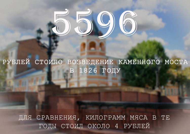 Каменный мост Воронеж интересные факты