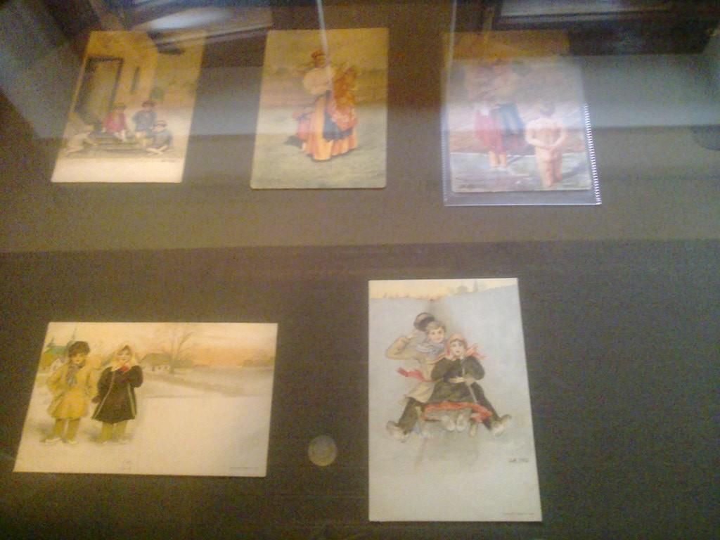 открытки с акварелями княгини Ольги Ольденбуржской