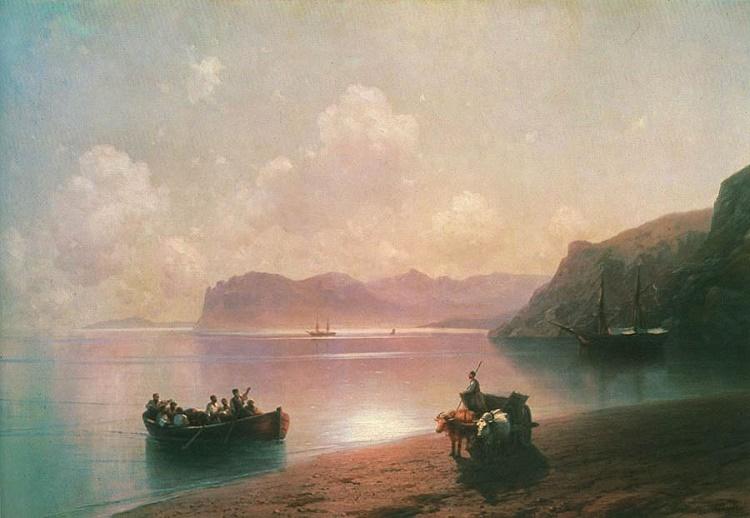 Картина Айвазовского «Утро на море», 1851 год.