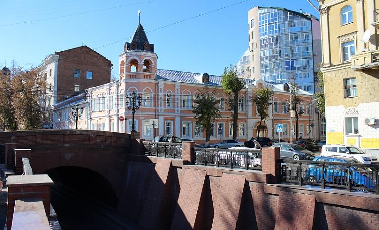 КАМЕННЫЙ МОСТ (вид с ул. Чернышевского)