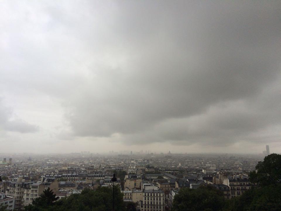 Монмартр. Завораживающий вид на Париж!