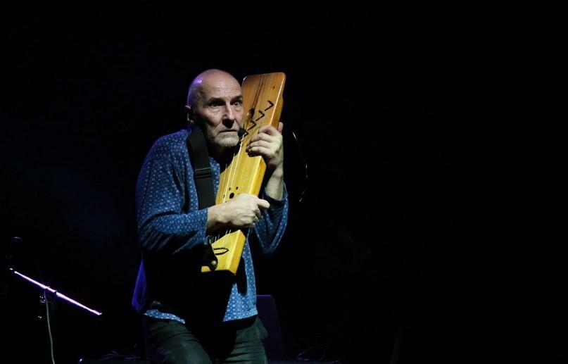 концерт Петра Мамонова и его группы Совершенно новые Звуки Му