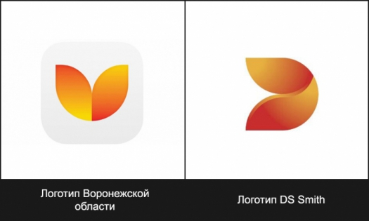 логтип Воронежской области явно позаимствован у британской компании