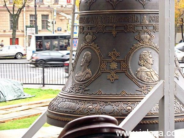 Колокол для Исаакиевского собора прибыл в Санкт-Петербург