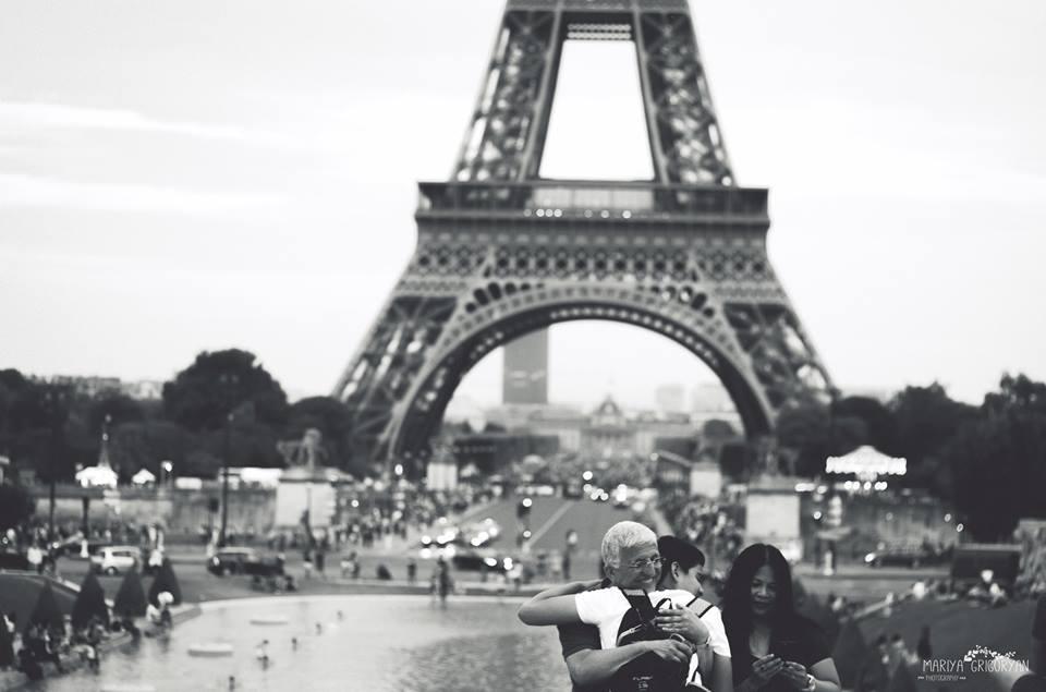 Париж - город чувств. Фото - Маши Григорян