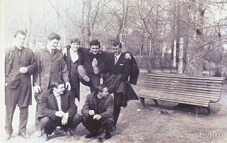 Единственное фото Бринкманского сада конца 50-х годов, которое удалось найти