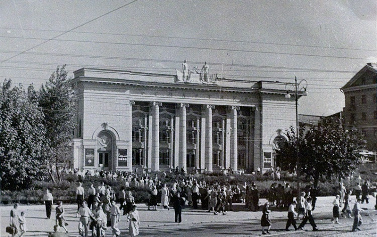 Воронеж. кинотеатр Спартак