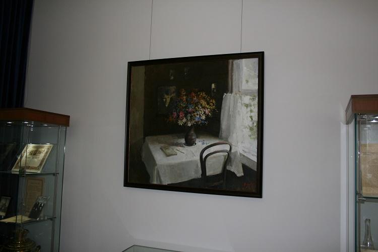 Музей Есенина украшают картины лучших воронежских художников