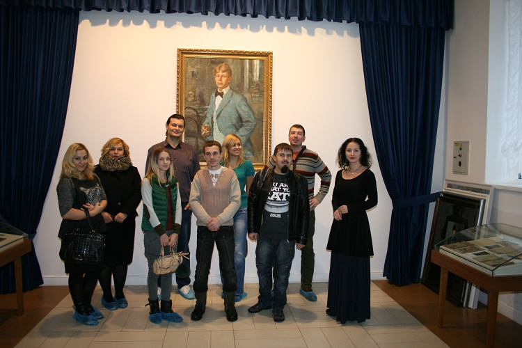 В рамках проекта Обед для мозга воронежцы посетили музей Есенина