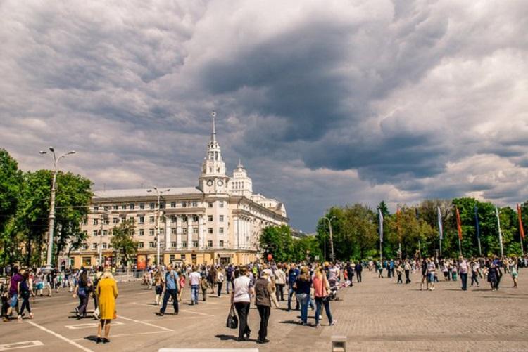 День Победы в Воронеже