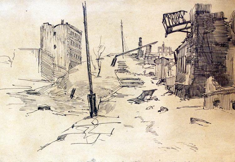 Улица Воронежа. 1943